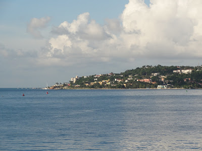 Jamaica from water