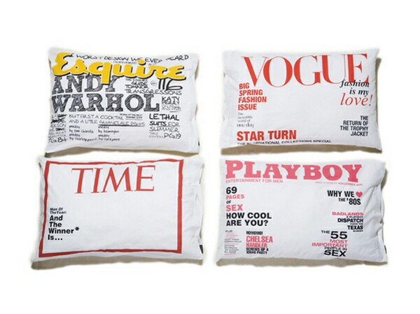 Magazine Pillowcase Covers