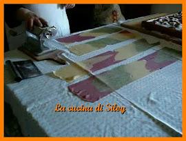 Ravioli e tagliatelle arlecchino -2ª parte
