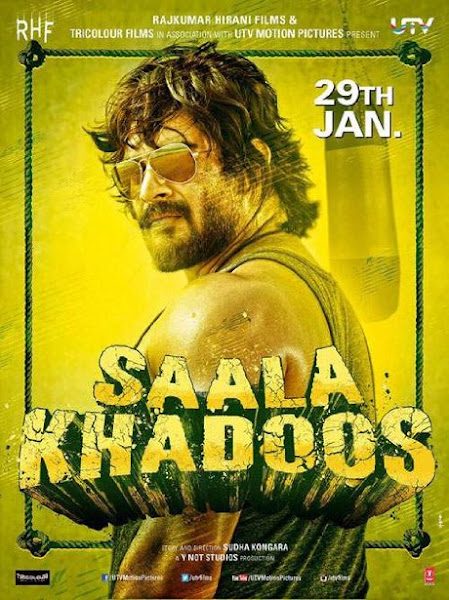 Poster Of Sala Khadoos 2016 720p Hindi DVDRip Full Movie Download