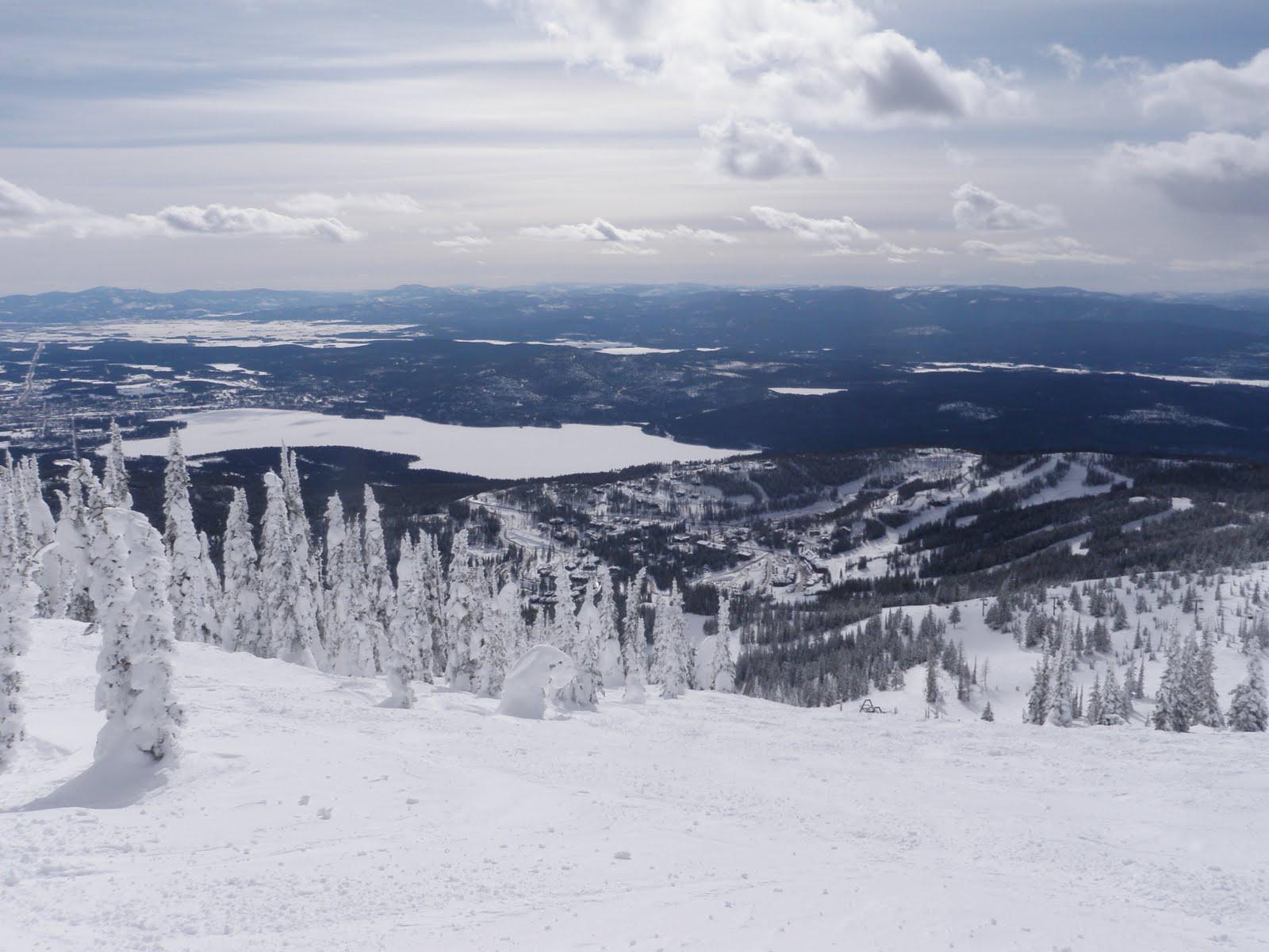 Pacific northwest seasons skiing whitefish big mountain for White fish montana