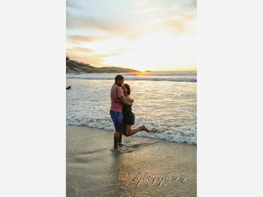 DK Photography Slideshow-38 Rochelle & Enrico's Engagement Shoot in Kirstenbosch Botanical Garden & Llandudno Beach  Cape Town Wedding photographer