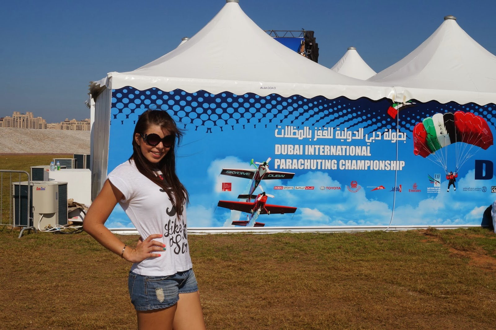 4th Dubai International Parachuting Championship 2013