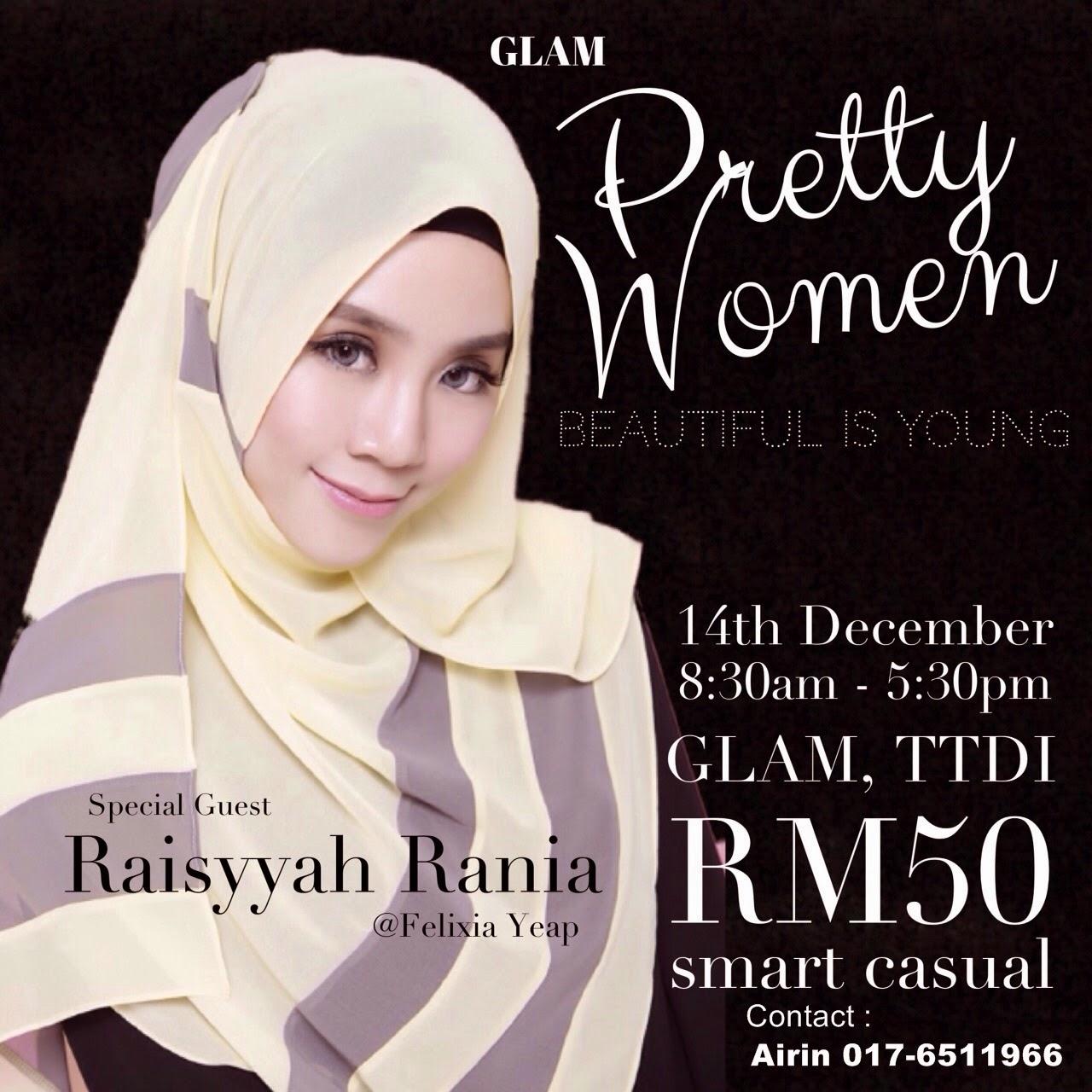 glam pretty women