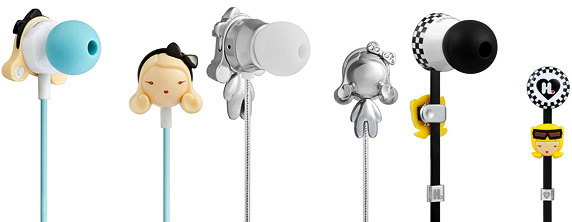 Harajuku Lovers Super Kawaii In-Ear Headphones from Moster
