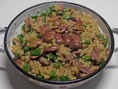 αμάρανθος, χορτοφαγική συνταγή, συνταγή με αμάρανθο