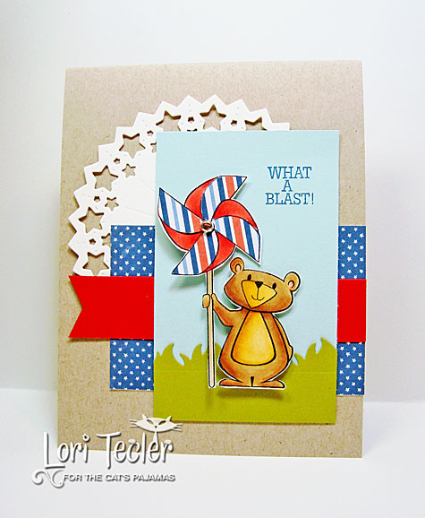 What a Blast card-designed by Lori Tecler/Inking Aloud-stamps and dies from The Cat's Pajamas