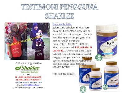 slimming set vitamin shaklee