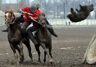 Olahraga Extrim : Buzkashi...!!!