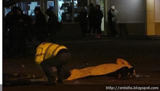 В Харькове при ограблении из автомата расстреляны двое инкассаторов
