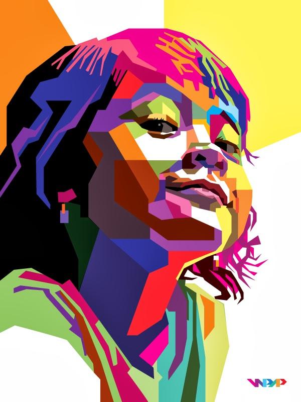 Tutorial Illustrator Cara Membuat Geometris, WPAP Vector