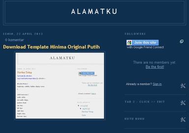 Kode Template Dasar HTML5 Blank