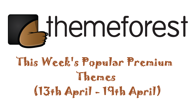 Popular Themeforest Themes