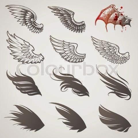 los mejores tatuajes de alas belagoria la web de los tatuajes. Black Bedroom Furniture Sets. Home Design Ideas