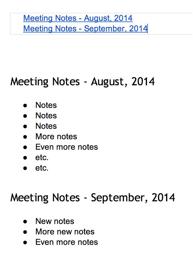pdf clickable table of contents