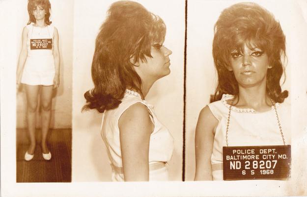 Vintage everyday vintage bad girl mugshots - Retro bad ...