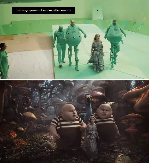 Efek Menakjubkan Di Balik Layar Film Hollywood Favoritmu