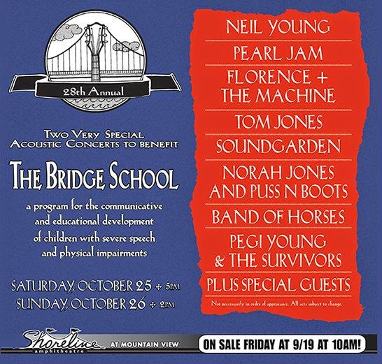 the bridge school - neil young