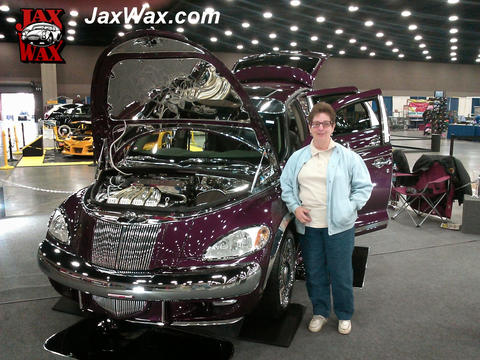 2001 PT Cruiser Carl Casper Auto Show Jax Wax Customer
