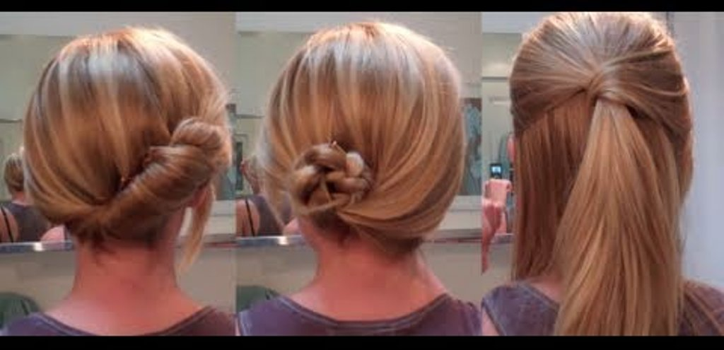 yes! Do It Yourself!: Easy Hairstyles for a date / work - hairstyles ...
