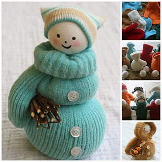 http://diycozyhome.com/mittens-into-cute-snowmen/