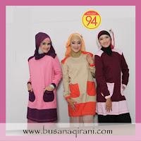 Busana Muslim Qirani yang trendy