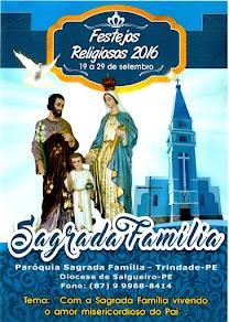 Festa da Sagrada Família 2016