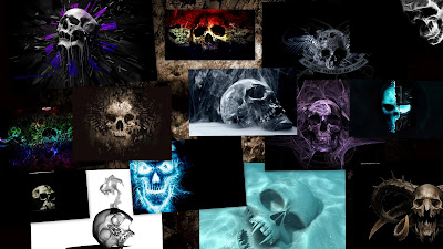 Skull Theme For Windows 7 And 8