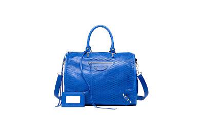 Balenciaga's Perforated Work Bag