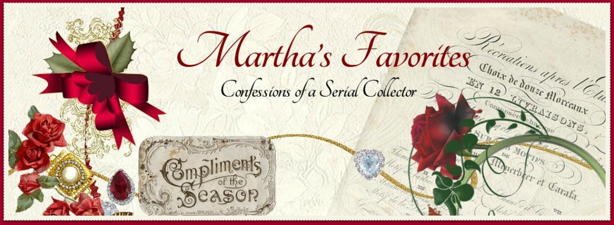 Martha's Favorites