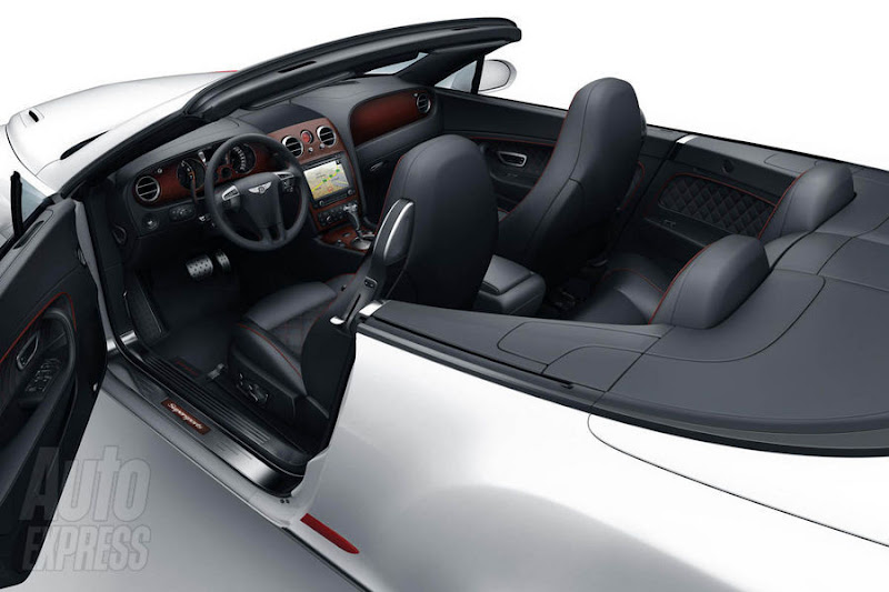 2011 Bentley Continental Supersport ISR interior