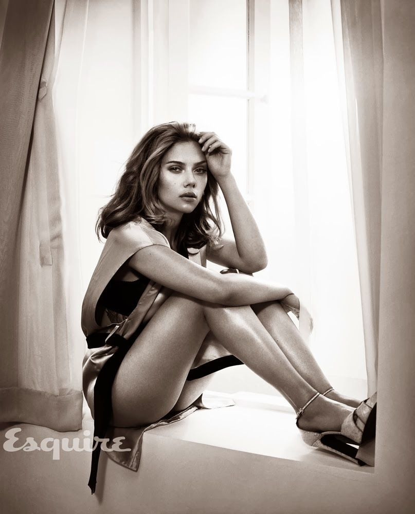 Scarlett Johansson is Esquire's Sexiest Woman Alive 2013