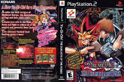 Yu-Gi-Oh The Duelists of the Roses PS2 DVD Capa