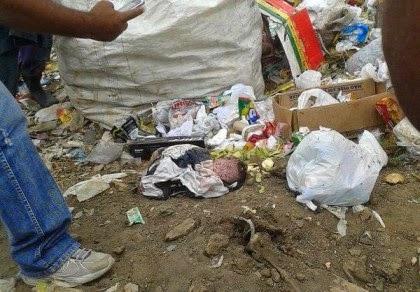 Ibicuí: Corpo de bebê é encontrado em lixão.