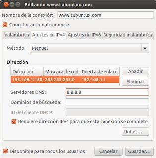 Abrir los puertos en Ubuntu