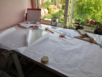 StinaP Mönsterkonstruktion klänning