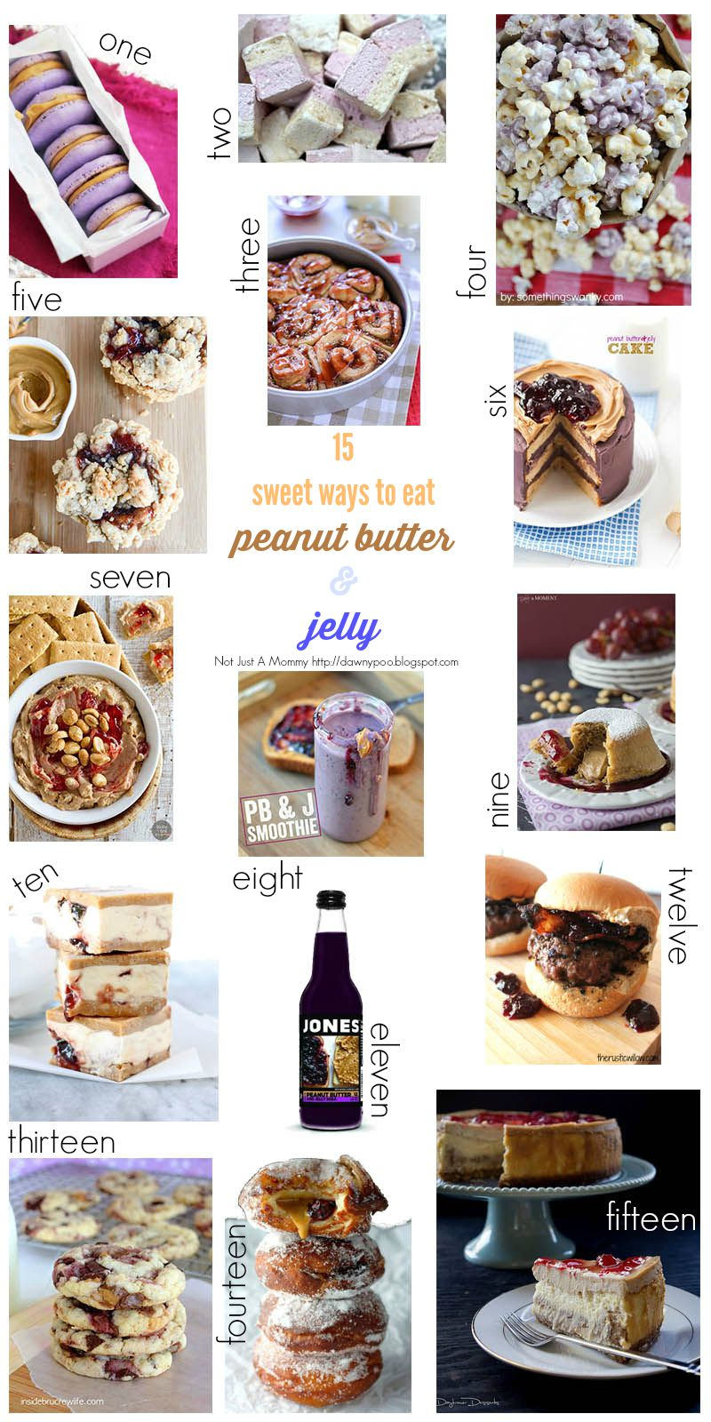 15 sweet ways to eat peanut butter & jelly