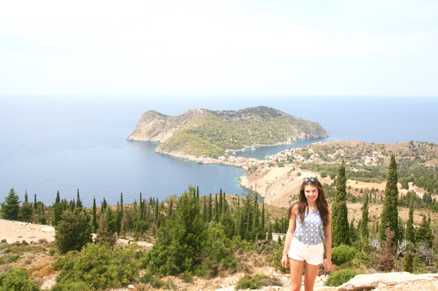Katherine Penney Chic Blogger Summer Holiday Kefalonia Beautiful View Island Photography