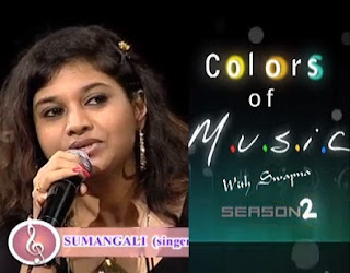 Singer Sumangali in Colors of Music-2