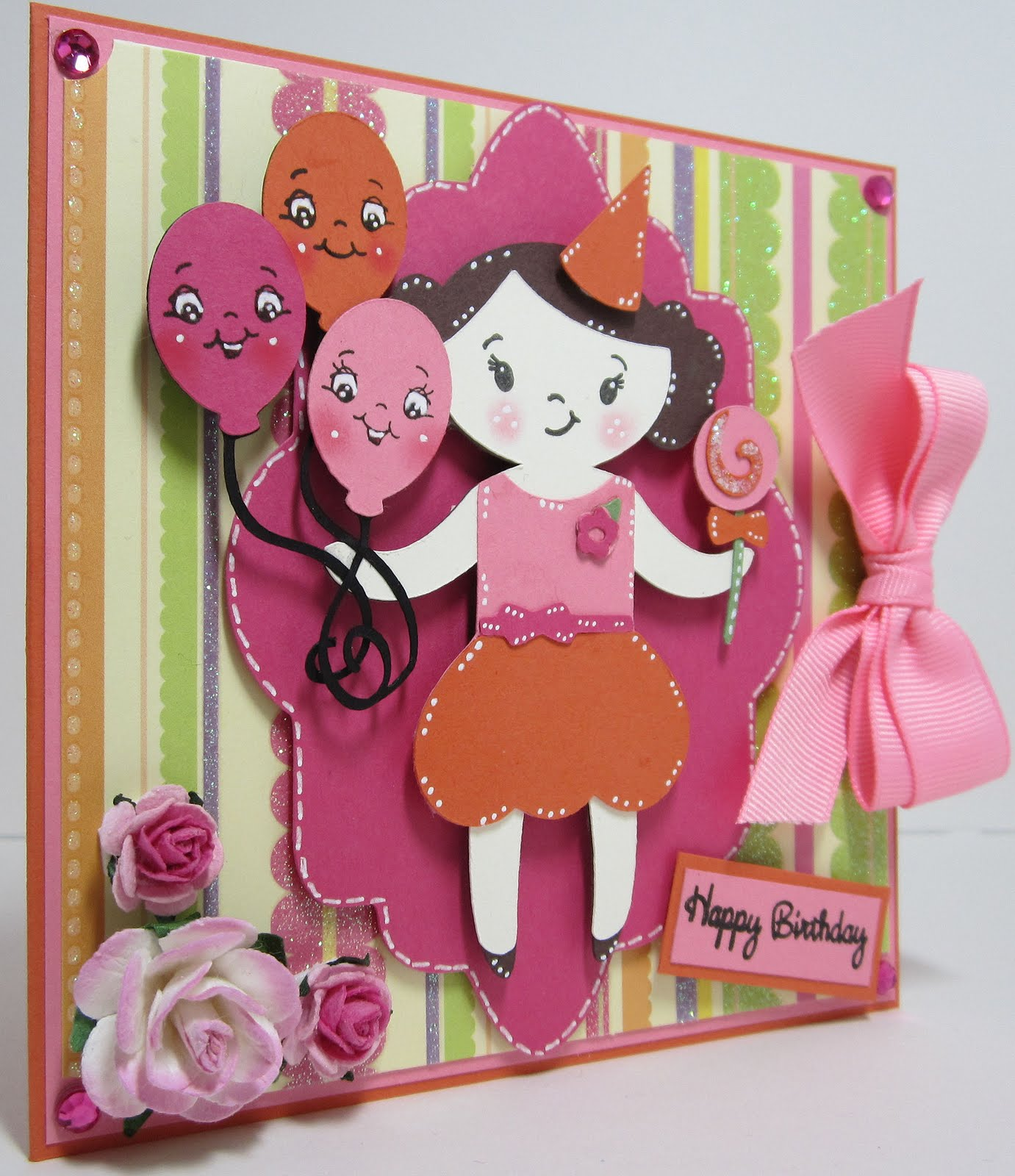 Ever after papercrafts a quick happy birthday card a quick happy birthday card bookmarktalkfo Choice Image