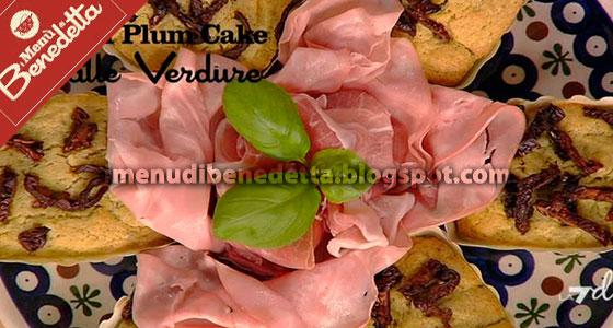 Mini Plum Cake al Pesto di Benedetta Parodi