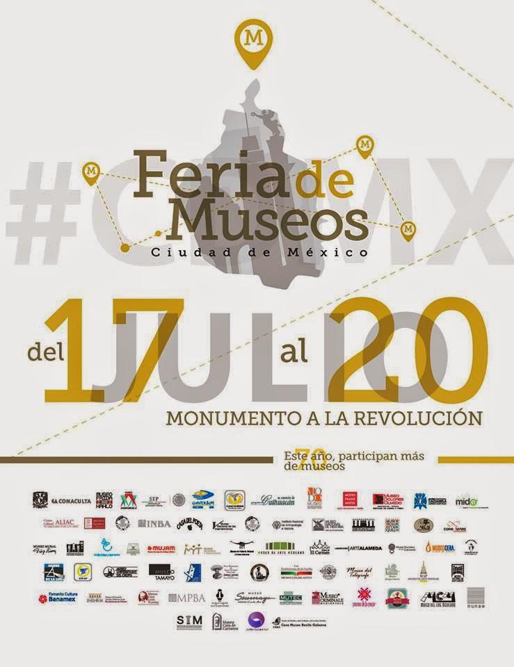 Feria de Museos Ciudad de México 2014 en el Monumento a la Revolución