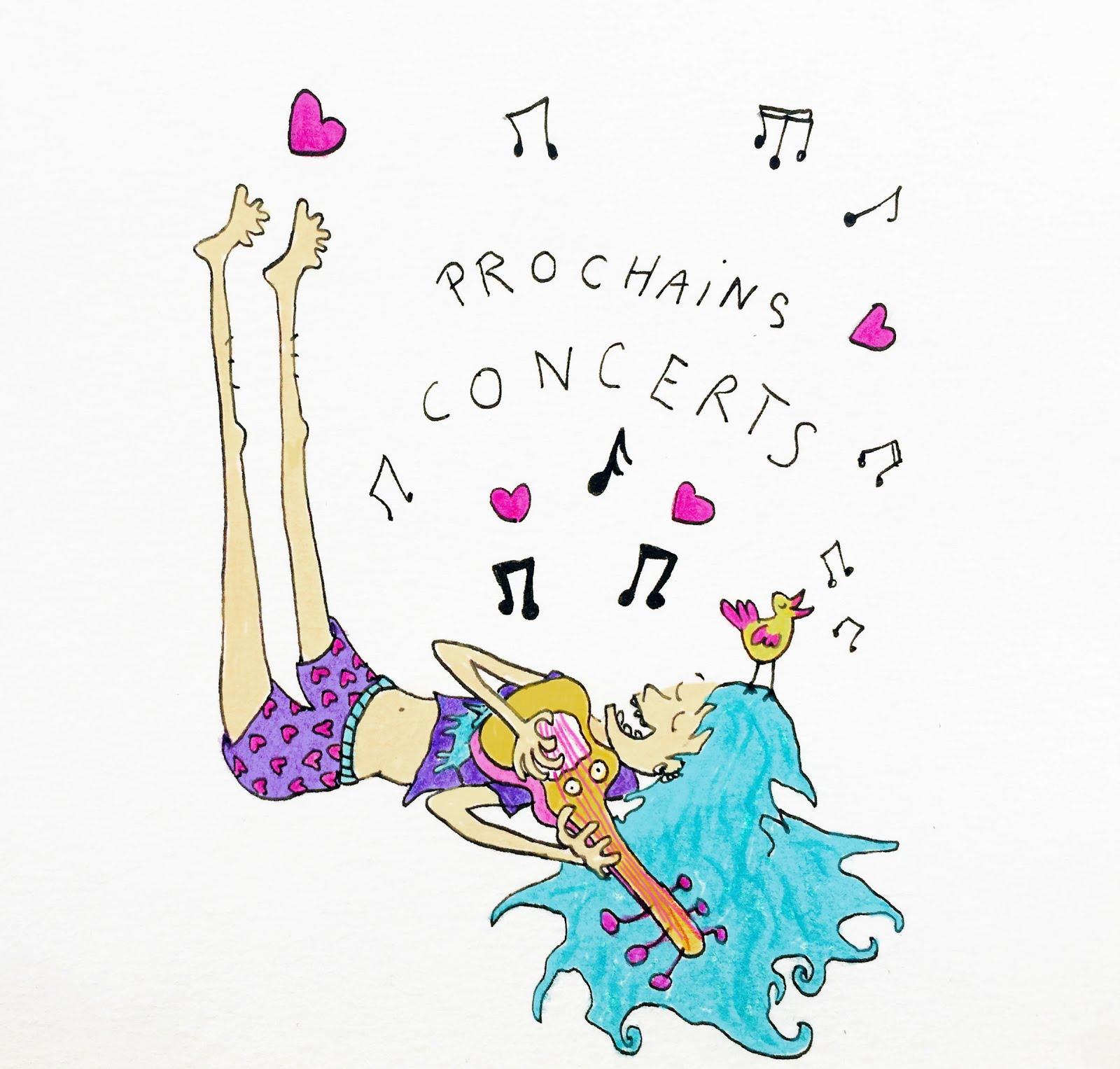 PROCHAINS CONCERTS !