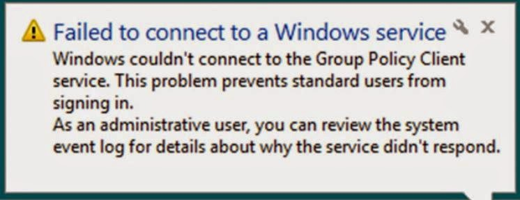 Group policy is not updating in clients
