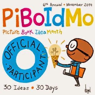 I'm a PiBoIdMo Participant!!