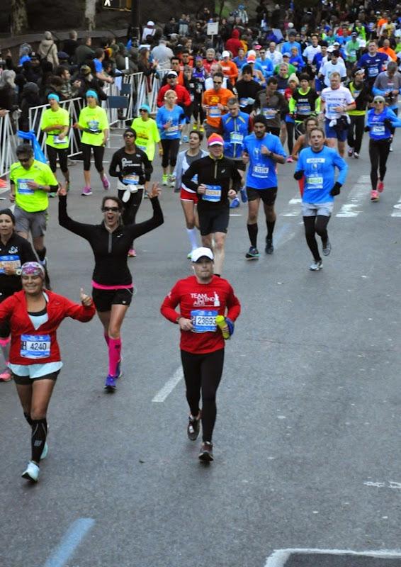 Running NYC Marathon 2014