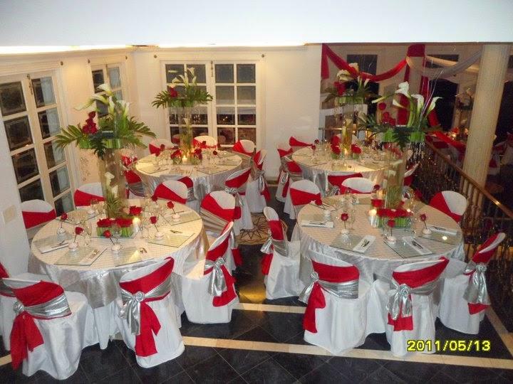 Bodas de plata decoracion en casa for Decoracion casa novia