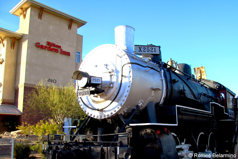 Southern Pacific Engine No. 2521 Yuma Arizona