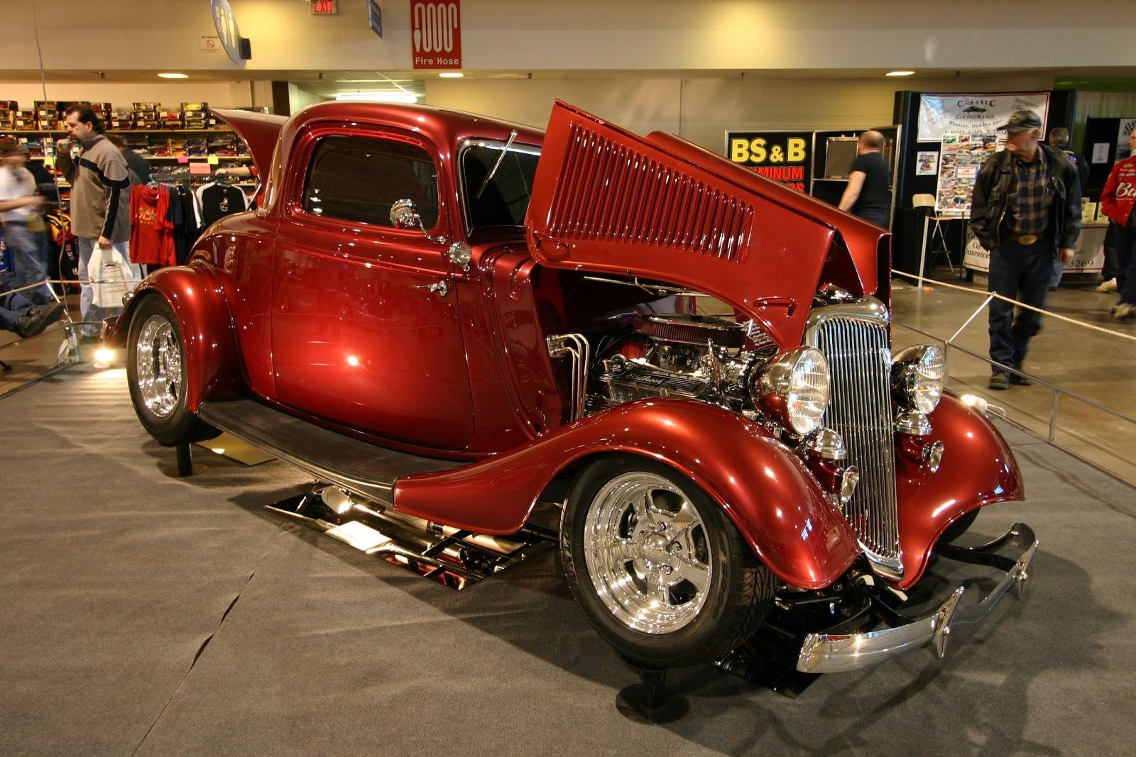 custom old car