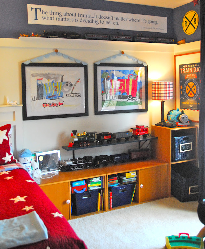 train bedroom for ozzy